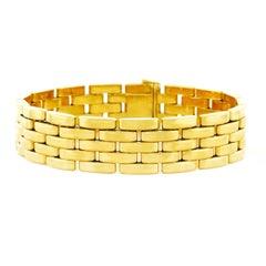 1960s Cartier Maillon Gold Link Bracelet