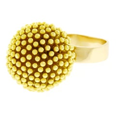 Fabulous 1960s Mod Gold Ring
