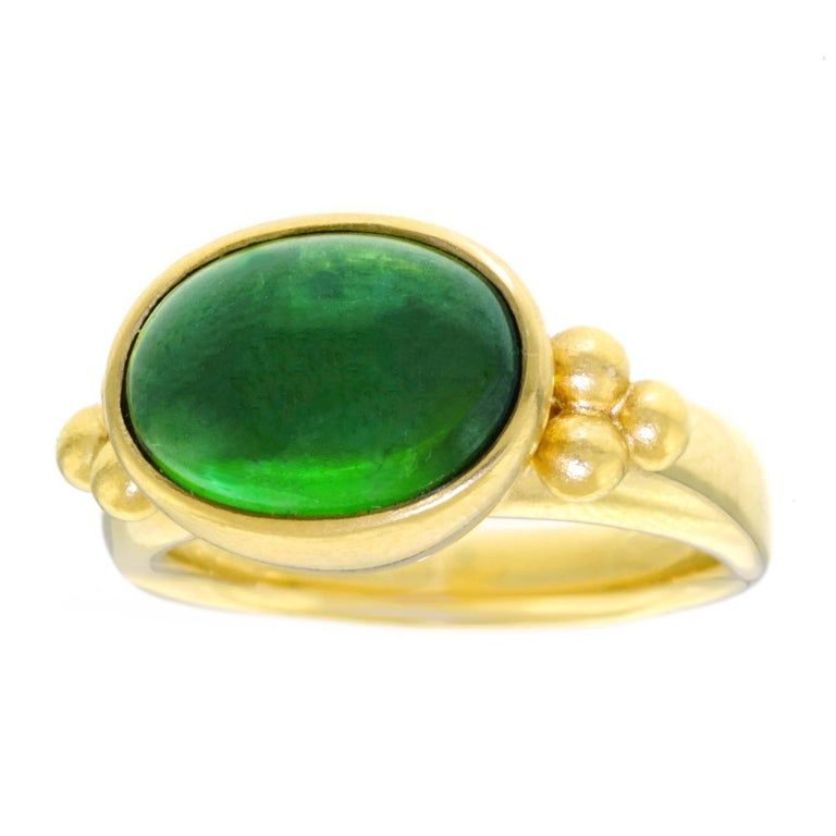 Maija Neimanis Archaic Motif High Karat Gold Ring