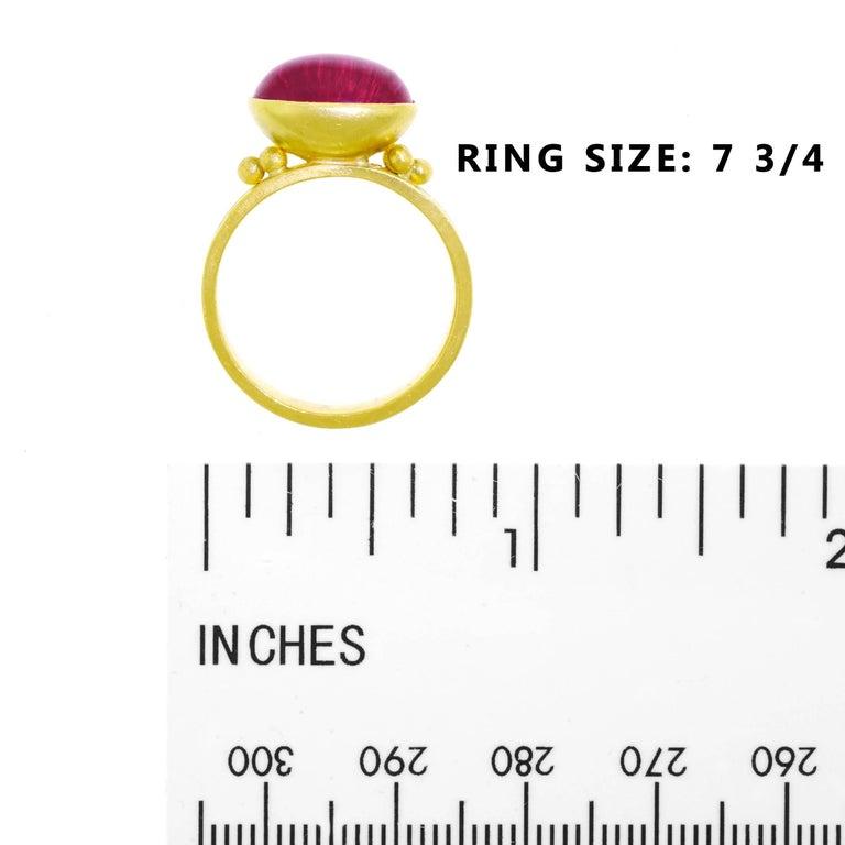 Maija Neimanis Archaic Motif High Karat Gold Ring 6