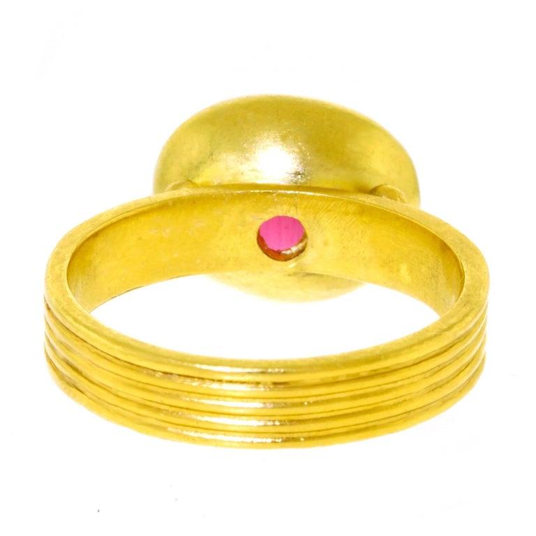 Maija Neimanis Archaic Motif High Karat Gold Ring 5