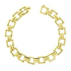 1950s Cartier Gold Link Bracelet