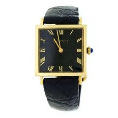 Cartier yellow Gold mechanical Wristwatch, Circa 1970s