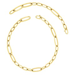 IsabelleFa Gold Necklace and Bracelet Set