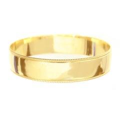 Tiffany and Co. Gold Bangle Bracelet