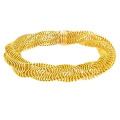 Boucheron Modernist Gold Bracelet