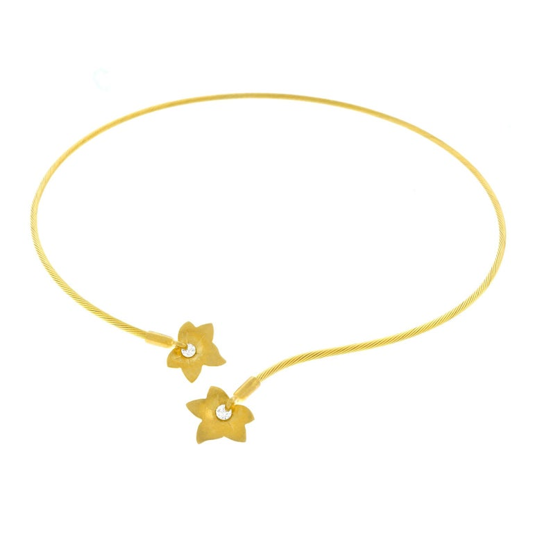 Reiss Gold Collier Necklace