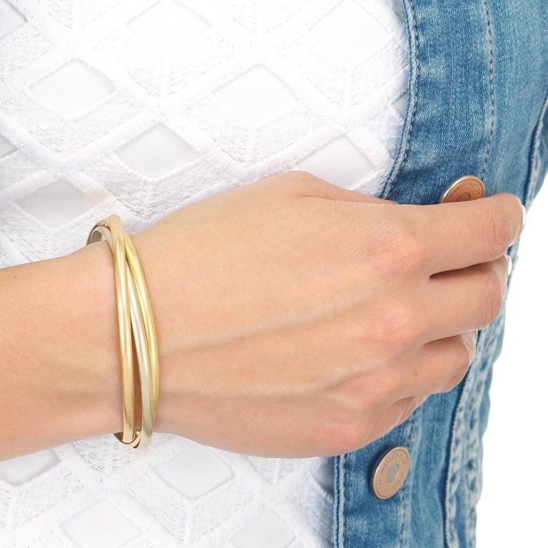 Women's Cartier Trinity Bracelet For Sale