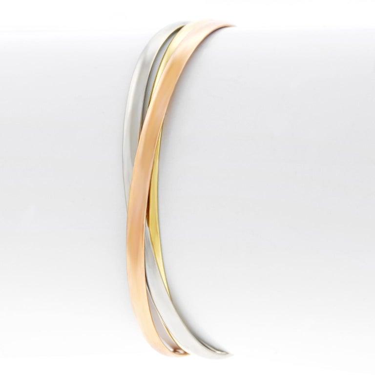 Cartier Trinity Bracelet For Sale 4