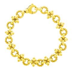 Tannler Gold Link Bracelet