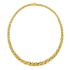 Tiffany & Co. Gold Russian Braid Necklace