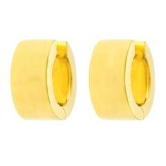 Bucherer Gold Earrings