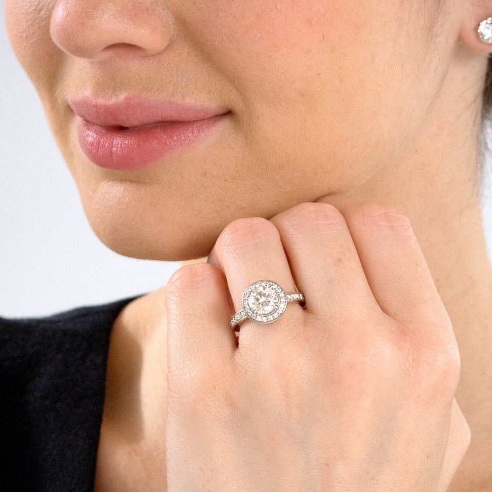 Ritani Diamond Engagement Ring 4