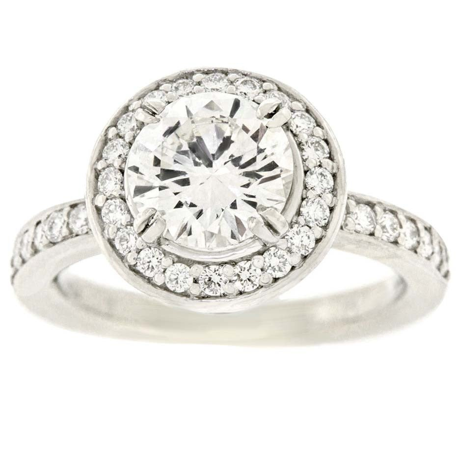 Ritani Diamond Engagement Ring 1