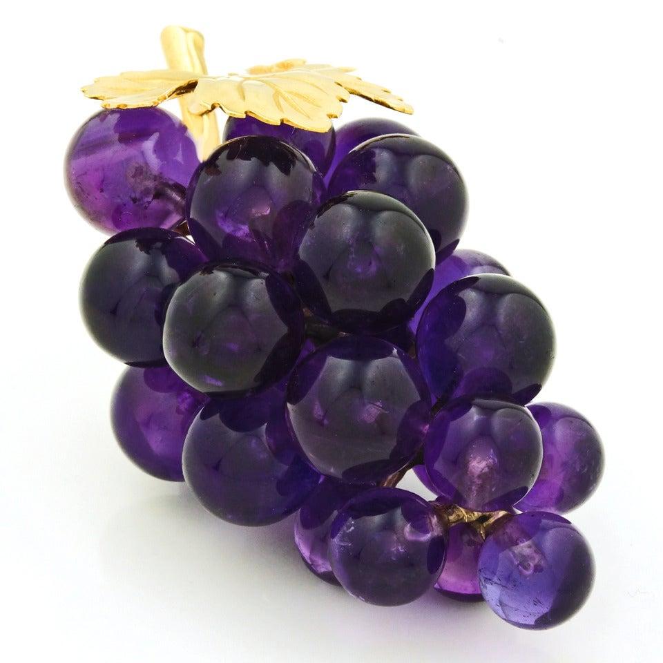 Vacheron Amethyst Grape Ornament At 1stdibs