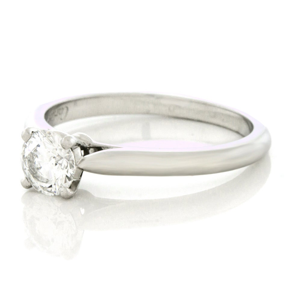cartier diamond engagement ring image 7