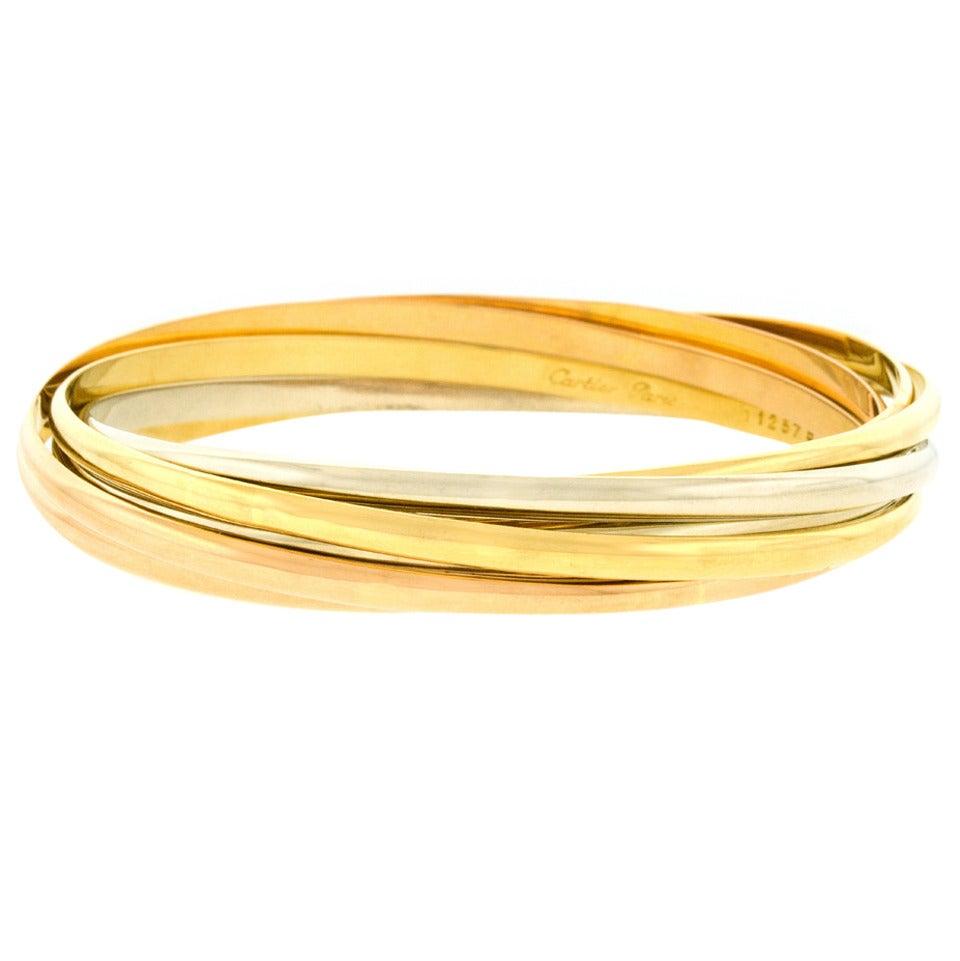 6dd5efd6d8dee Cartier Seven Band Trinity Bracelet