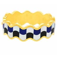 Tiffany & Co. Intarsia Wave Bracelet