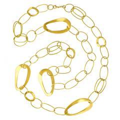 "Ippolita Glamazon Gold ""Cherish"" Chain Necklace"