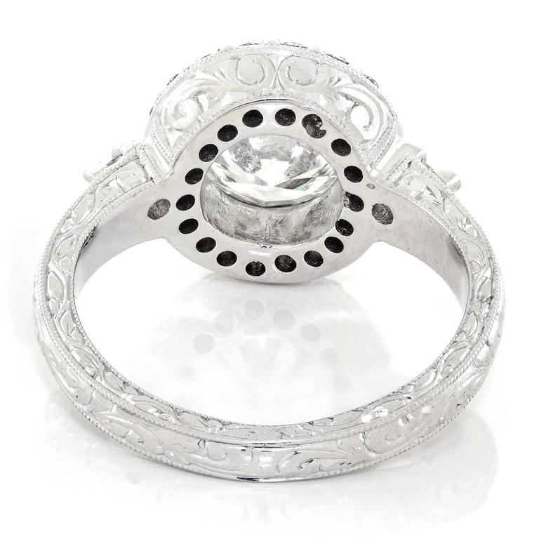 1.78 Carat Diamond Ring GIA For Sale 4