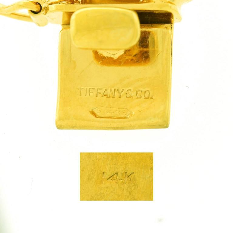 Tiffany & Co. Fabulous Chunky Gold Anchor Link Bracelet 1