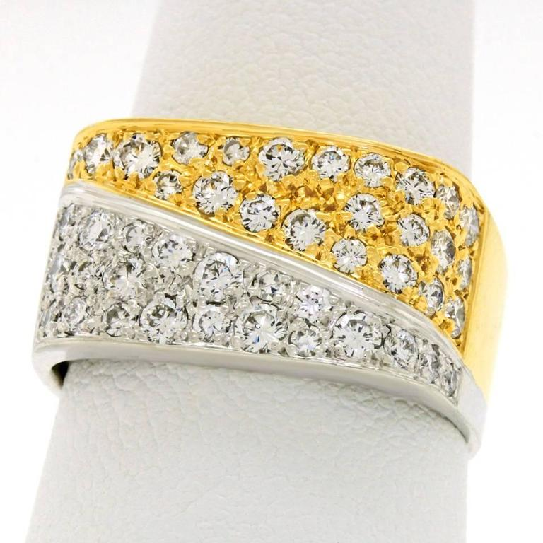 Fabulous 1970s Diamond Gold Ring 3