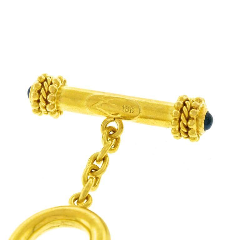 Elizabeth Locke Ancient Coin Gold Necklace 5