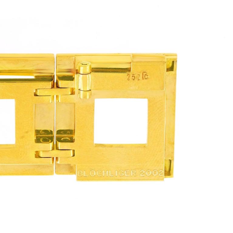 Blochliger Modernist Gold Bracelet 1