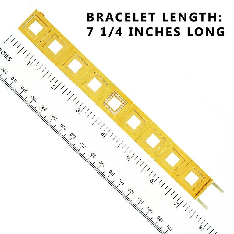Blochliger Modernist Gold Bracelet 2