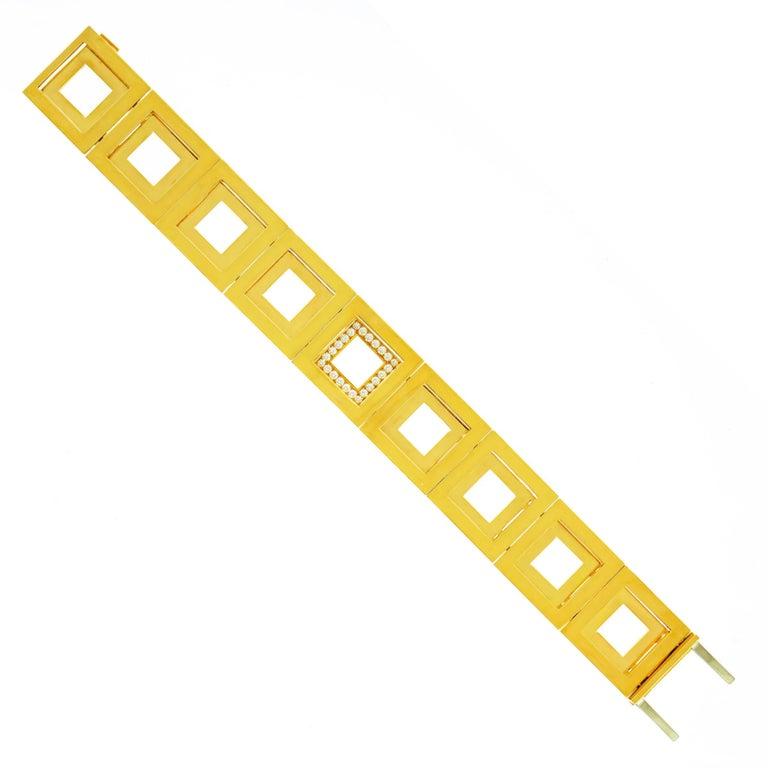 Blochliger Modernist Gold Bracelet 3