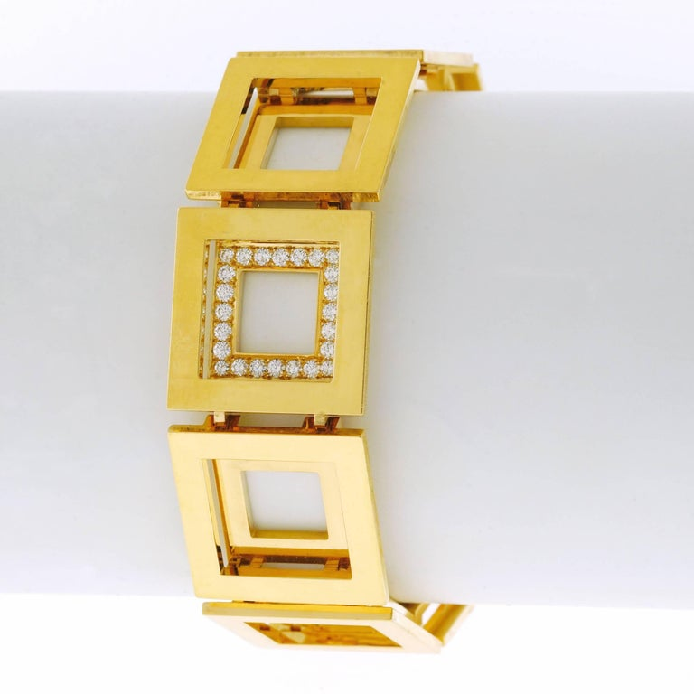 Blochliger Modernist Gold Bracelet 4