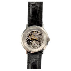 Piaget White Gold Altplano Skeleton XL G0A33115 Manual-Wind Wristwatch