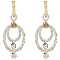 Cassandra Goad Cushion Boulder Opal Pave Diamond Gold