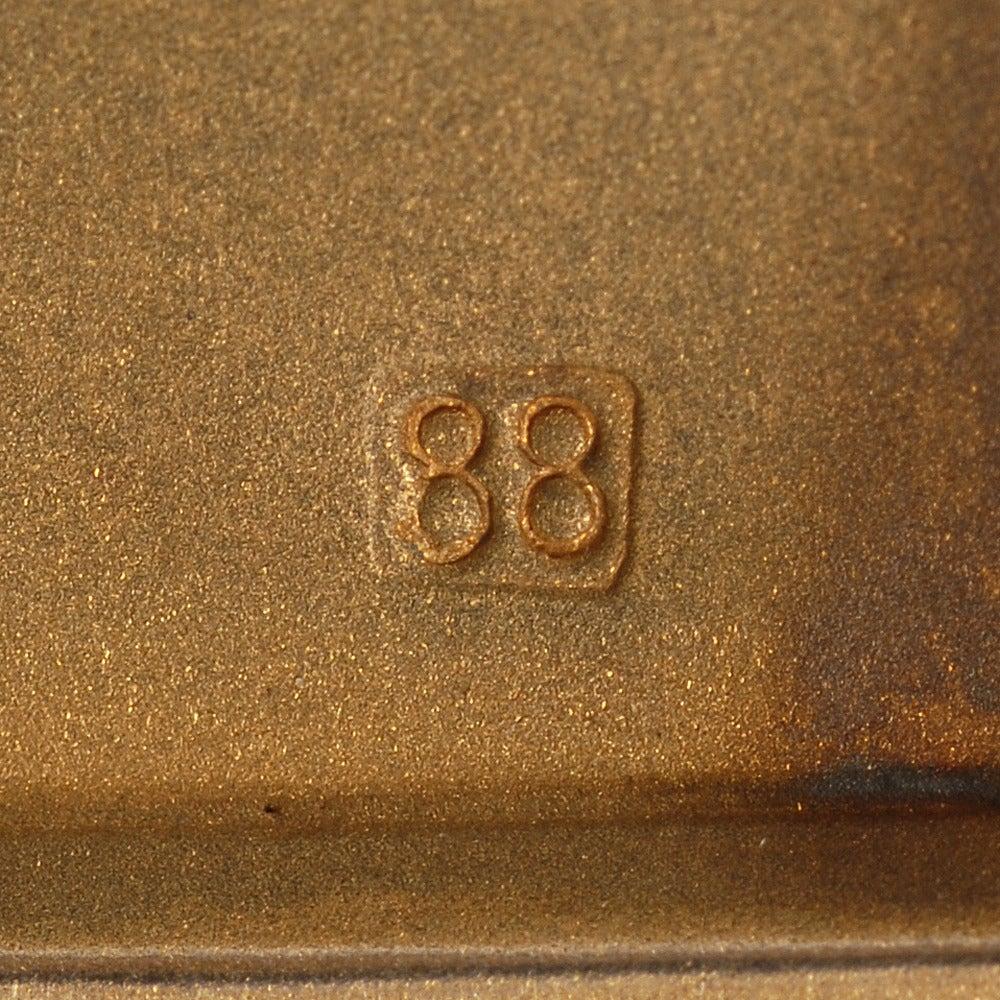 Fabergé Gilded Silver and Guilloché Enamel Vesta in Original Fitted Case 3