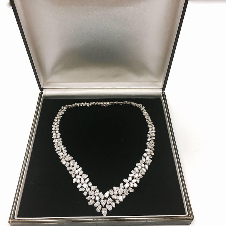 Magnificent Platinum Diamond Necklace 4