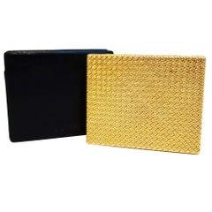 Van Cleef & Arpels Gold Compact Powder Box
