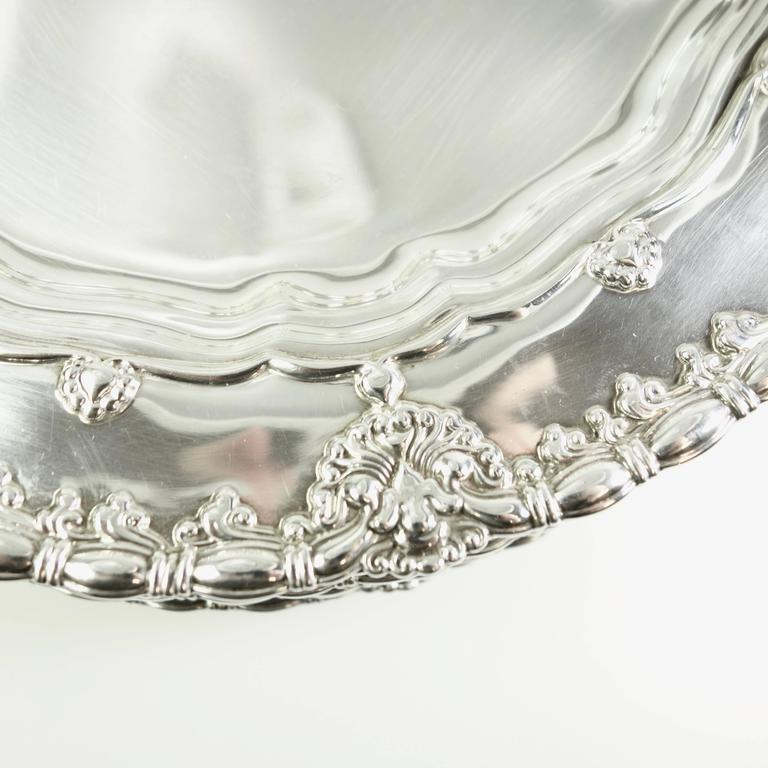 Tiffany & Co. Sterling Silver Plates Set of Ten, Circa 1905 For Sale 1