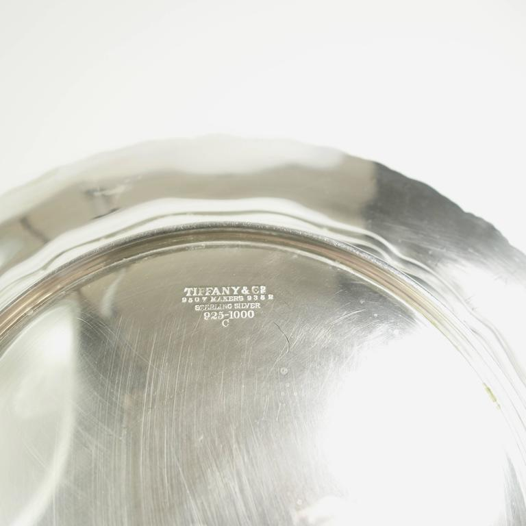 Tiffany & Co. Sterling Silver Plates Set of Ten, Circa 1905 For Sale 2