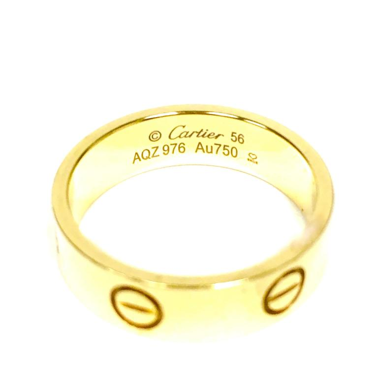 Cartier Love Ring Serial Number