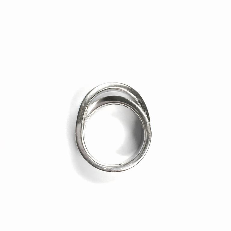 Etincelle Bands: Cartier Paris Nouvelle Vague Crossover Diamond Gold Ring