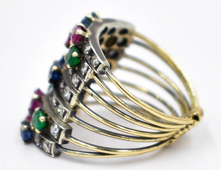 Sapphire Harem Ring