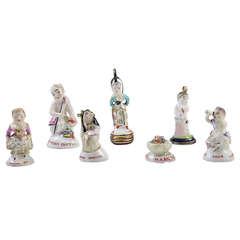 Antique Porcelain Chelsea Seals