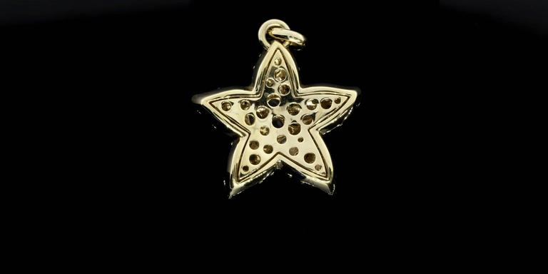 Women's Pomellato Moonstone Gold Sirene Starfish Pendant For Sale