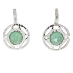 Ippoita Aqua Doublet Wonderland Sterling Silver Drop Earrings