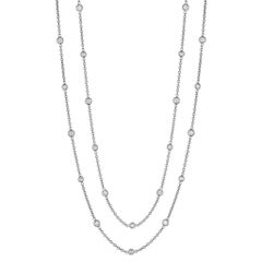 Penny Preville Diamond Eyeglass White Gold Chain Necklace
