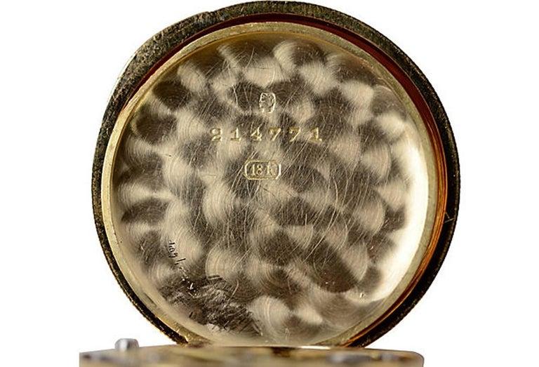 Men's Vacheron Constantin Yellow Gold Pocket Watch For Sale