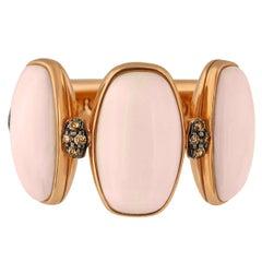 de Grisogono Coral Diamond Gold Ring