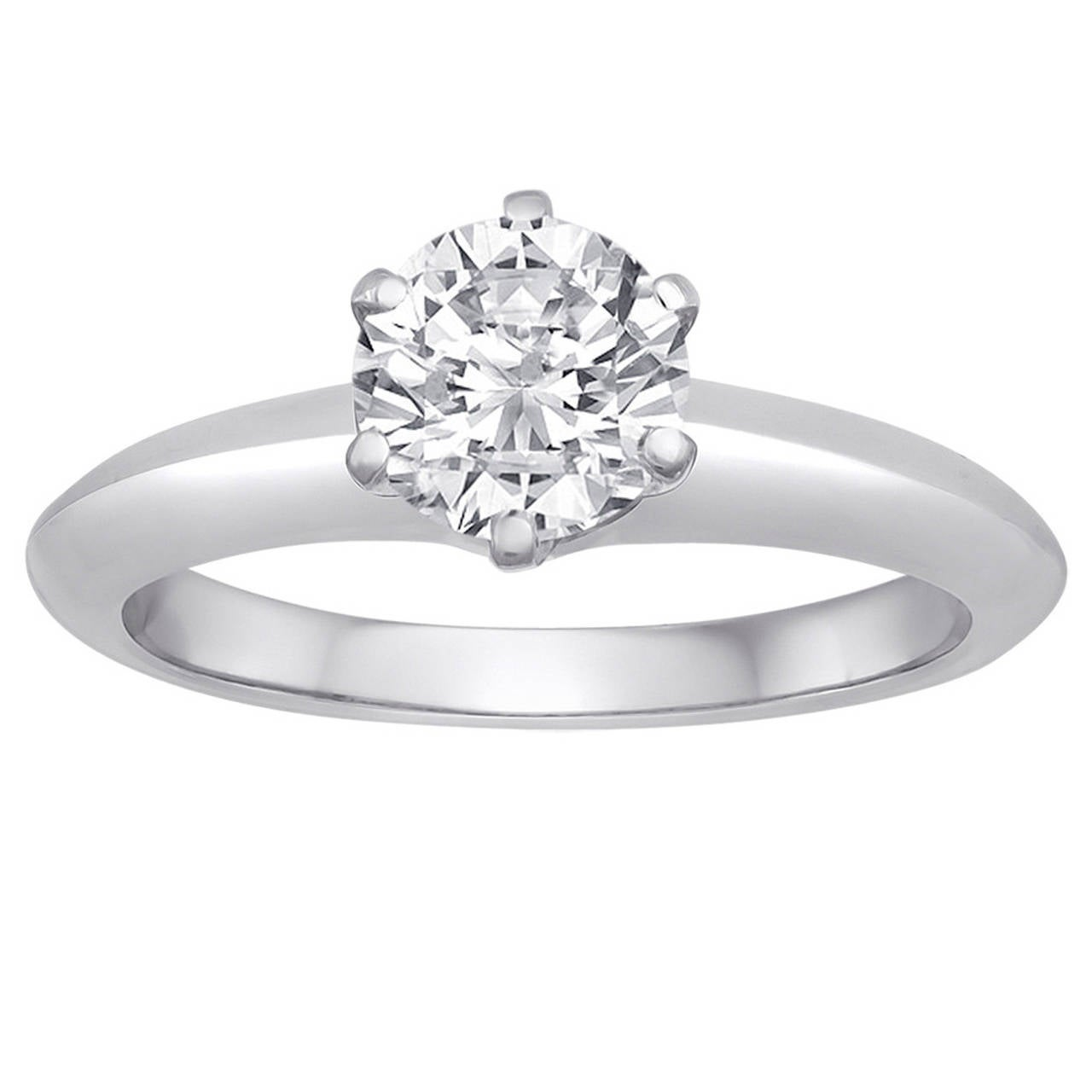 Tiffany engagement rings round cut