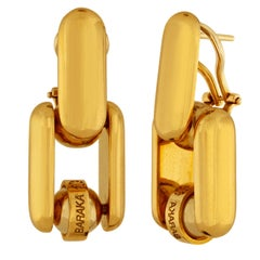 Baraka 18K Yellow Gold Earrings
