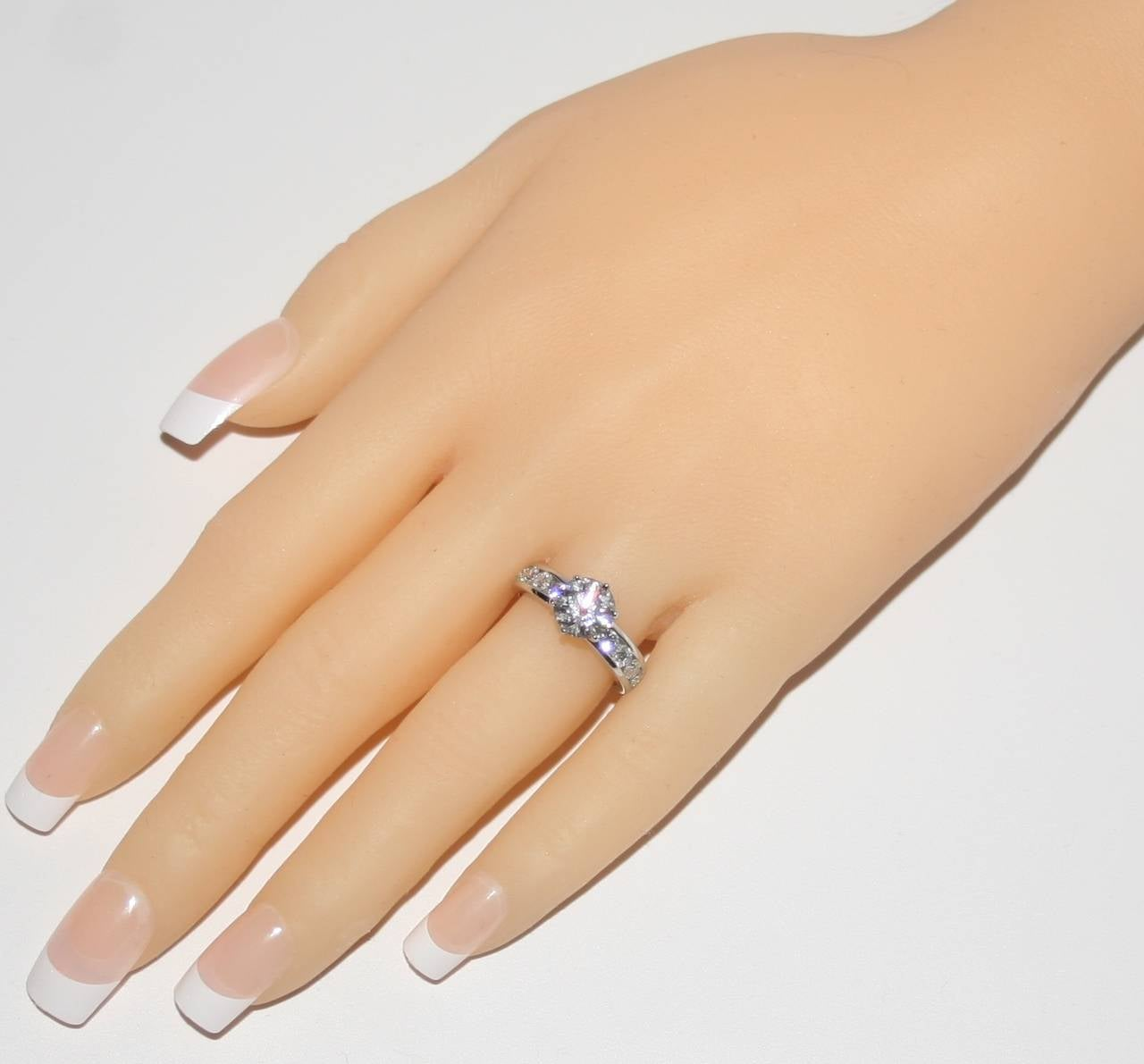 Tiffany & Co. 1.71 Carat F IF Diamond Platinum Ring 5